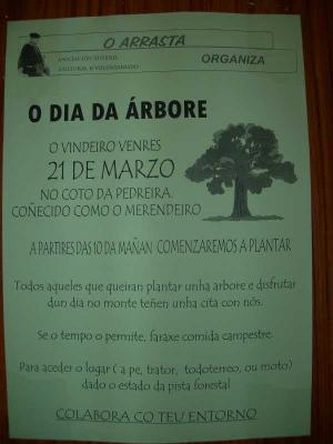Día da Árbore: venres 21 de marzo todos no Coto da Pedreira