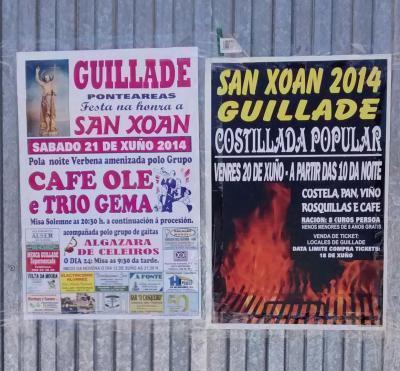Sardiñas e festa en Gillade Arriba!