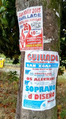 Festas de S.XOAN en Guillade Arriba